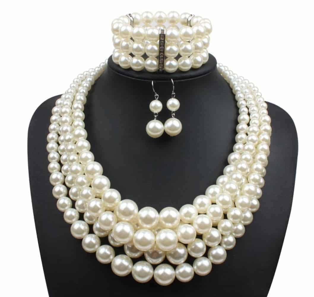 Home Fashion Jewelry Necklaces Gl Pearl Necklace