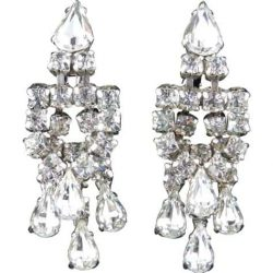 Rhinestones Crystal Earrings