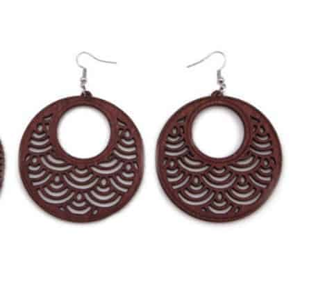 Home Fashion Jewelry Earrings Wooden