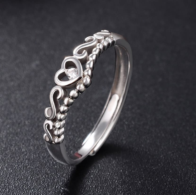 6d8925eec3 Women Fashion Opening s925 sterling silver couple ring more items ...
