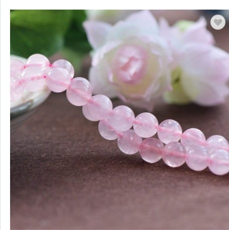 Wholesale Natural Rose Quartz Gemstone Loose Beads For