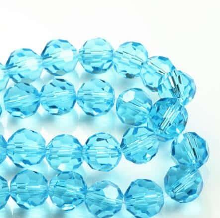 Cuentas de vidrio gefrostet 6 mm naranja 135 unidades bala joyas bricolaje perlas 58