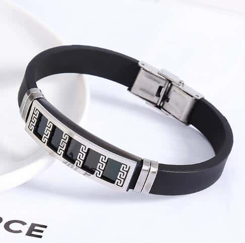 Men S Stainless Steel Silicone